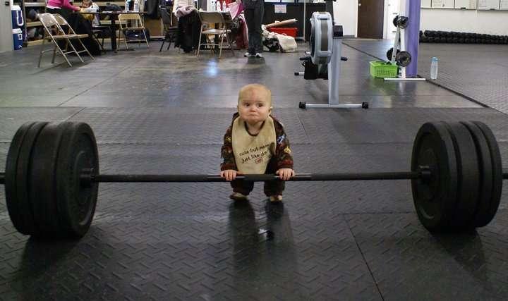 athlete-baby